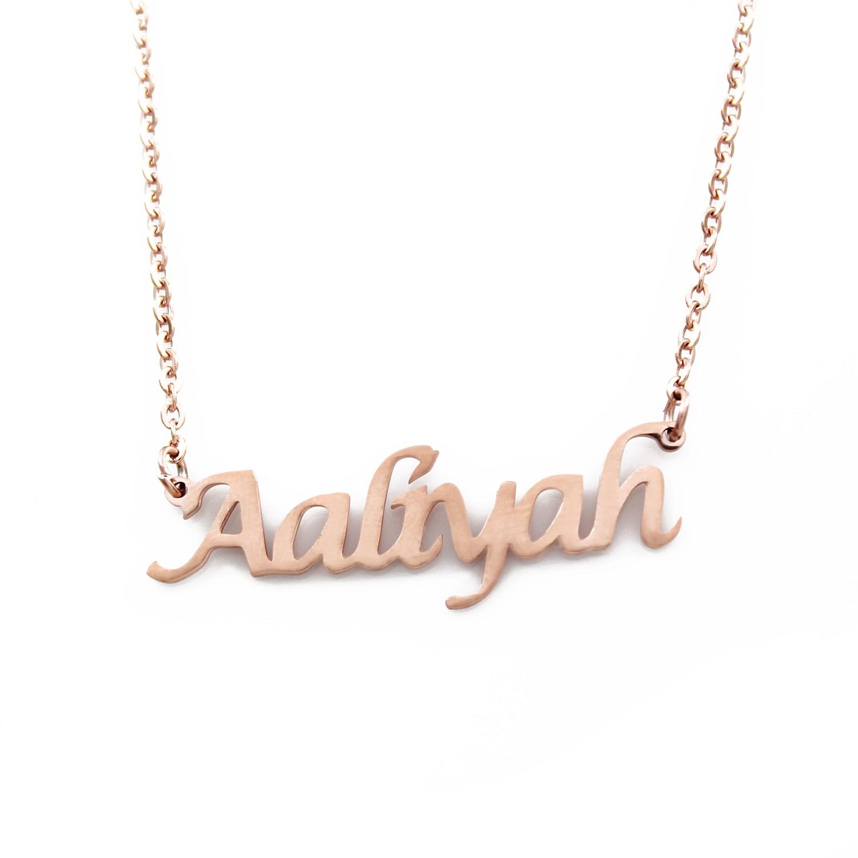 Name Chain ( English name on a chain )