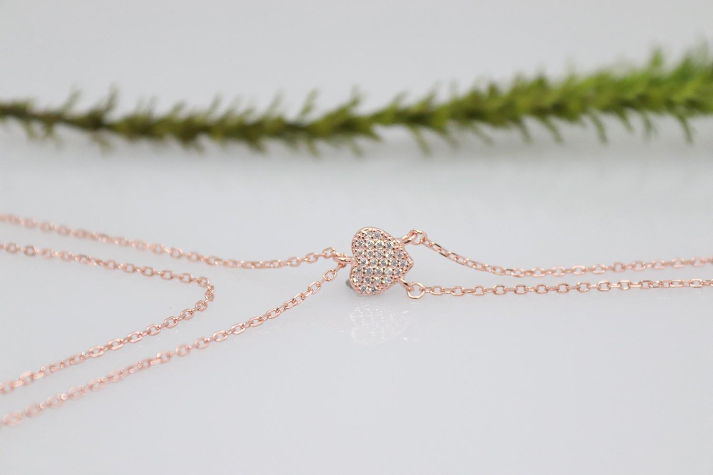 rose plated ring bracelet style