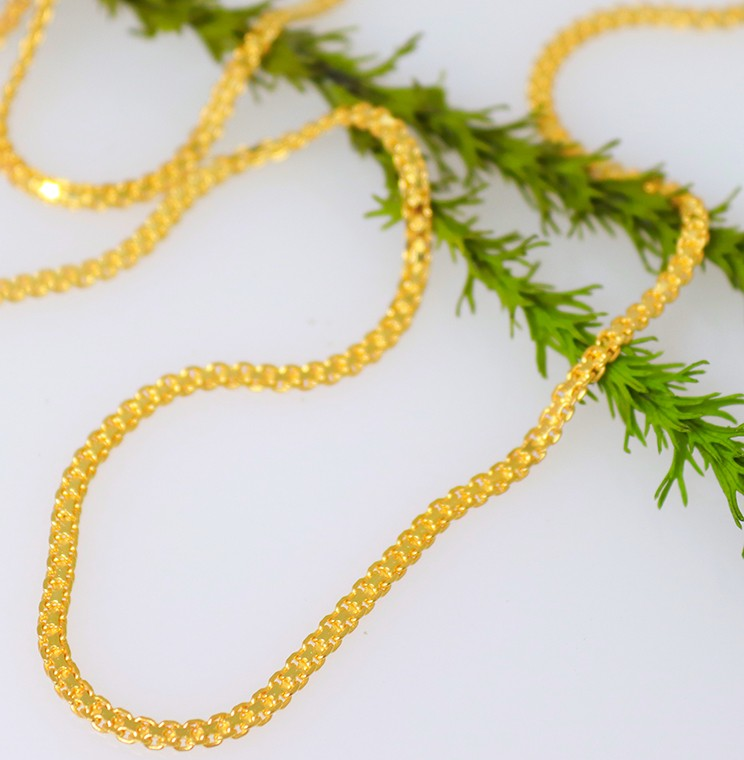 9ct yellow gold Silsila chain