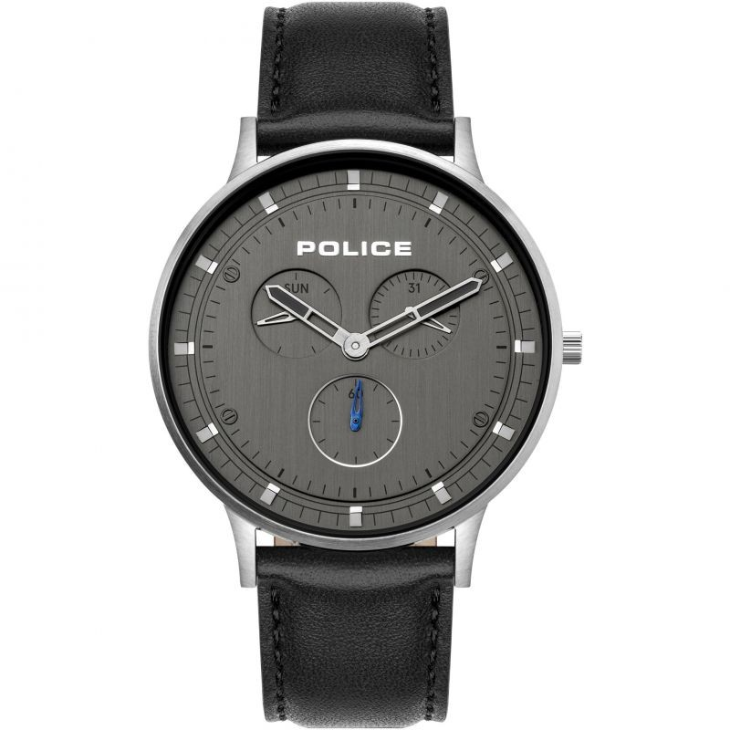 BLACK LEATHER GENTS POLICE