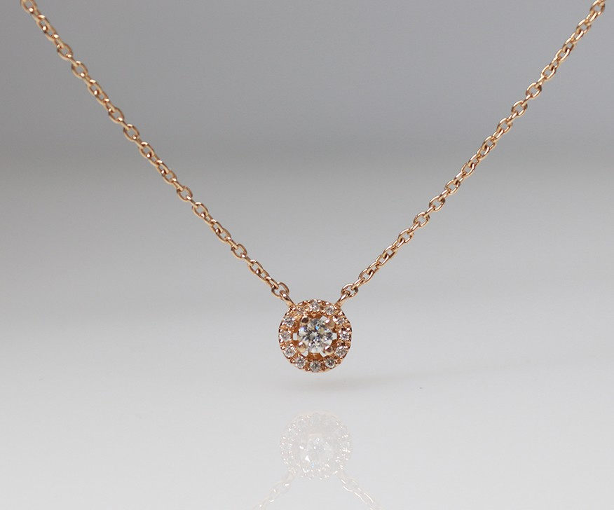 18ct diamond chain