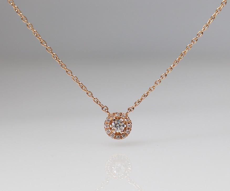 18ct diamond chain