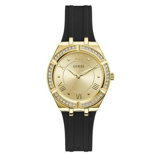 Guess Cosmo Ladies Sport Gold Analog Watch GW0034L1