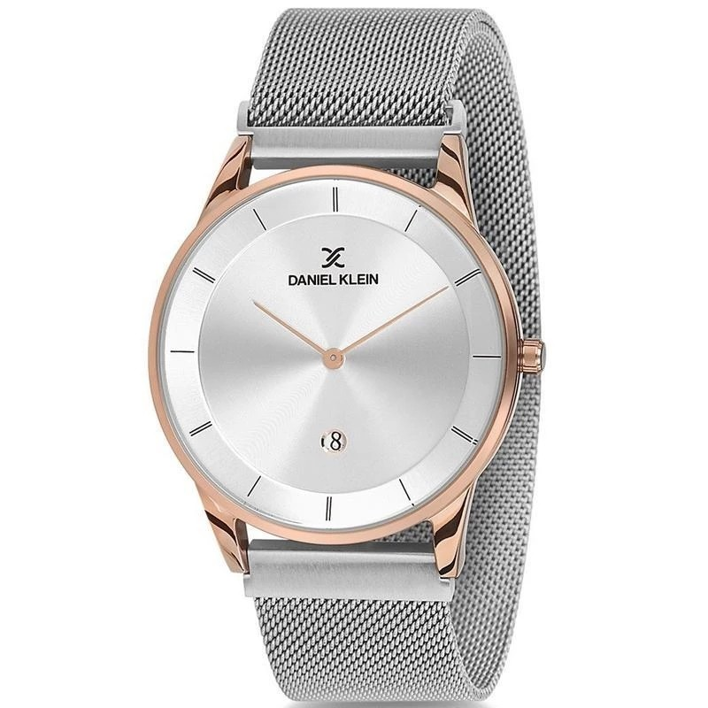 Gents Steel & rose Mesh strap