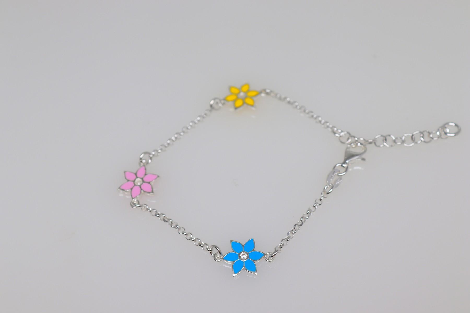 silver baby/toddler bracelet