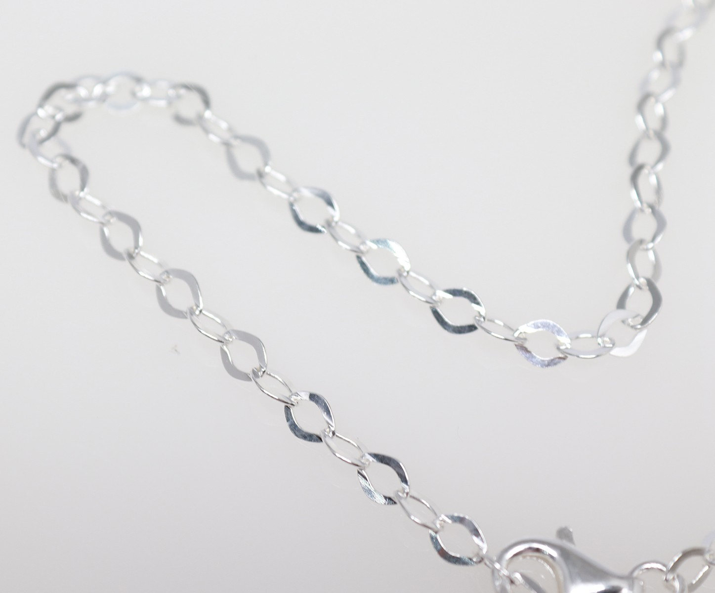 silver anklet with star charm
