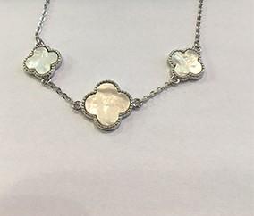 silver designer flower bracelet